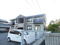 三重県津市一志町高野の賃貸アパートの外観