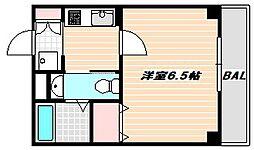東京メトロ東西線 浦安駅 徒歩20分の賃貸アパート 1階1Kの間取り