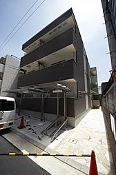 兵庫県尼崎市西本町2丁目の賃貸アパートの外観