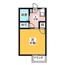 ハミングSANO[2階]の間取り