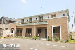 兵庫県西脇市高田井町の賃貸アパートの外観