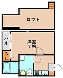 ソル箱崎[2階]の間取り