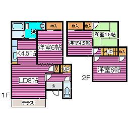 [一戸建] 北海道札幌市東区北四十四条東12丁目 の賃貸【/】の間取り