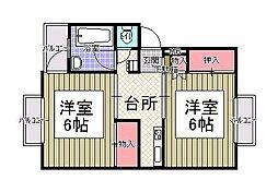 TS崎村ビル[4階]の間取り