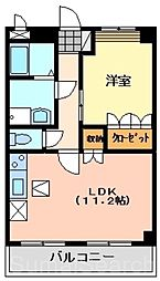 コンフォールヴィラ2[1階]の間取り