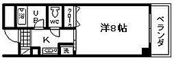 マ・メゾン21[305号室]の間取り