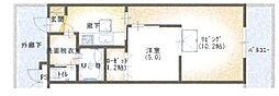 ルネスソフィア[1階]の間取り
