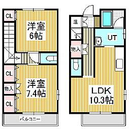 美原2011[1階]の間取り