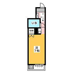 エトワール本庄第1[2階]の間取り