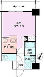 GEO東幸町弐番館[204号室]の間取り