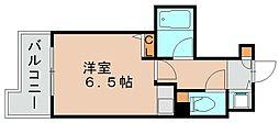 ライオンズマンション六本松第3[1階]の間取り