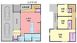 [一戸建] 福岡県福岡市西区女原北 の賃貸【/】の間取り