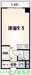 YK[502号室]の間取り