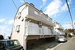 ポートハイツ成田[202号室]の外観