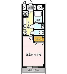 プレストンズ新栄[2階]の間取り