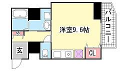 Kitano Flats Plus[5階]の間取り