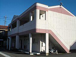 静岡県裾野市水窪の賃貸アパートの外観