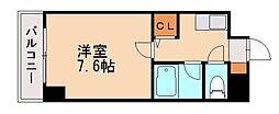 ピュア七隈[2階]の間取り