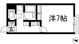 レオネクストセリバテール仁川2[1階]の間取り