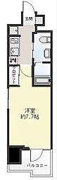 レグラス横浜吉野町[2階]の間取り