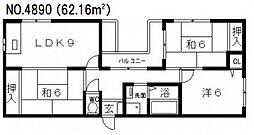La CASA (ラ カーサ)阪南町[2階]の間取り
