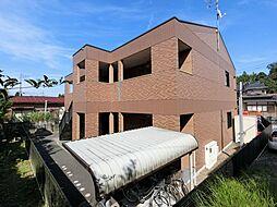 千葉県成田市土屋の賃貸マンションの外観