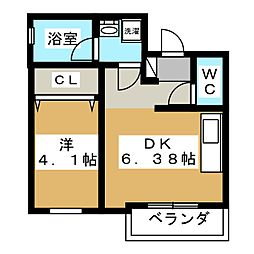 仮称 福嶋様マンション[2階]の間取り