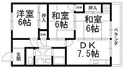 田中マンション[0305号室]の間取り