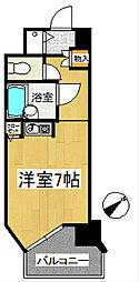 トーカン久留米駅東2キャステール[8階]の間取り