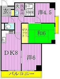 Maison more tour33(メゾンモアトゥール33[4階]の間取り