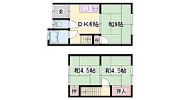 土山駅 4.0万円