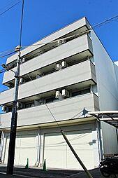 黒川太子橋マンション ネット無料リノベ部屋[402号室]の外観