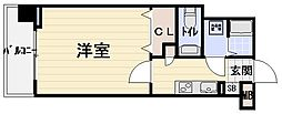 Ritz SQUARE GranQbeII[2階]の間取り