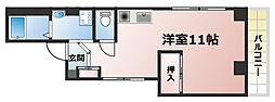 兵庫県神戸市灘区烏帽子町3丁目の賃貸マンションの間取り