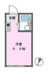 アップルハウス相武台[2階]の間取り