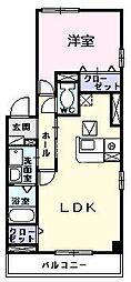 プリマベーラII[0201号室]の間取り
