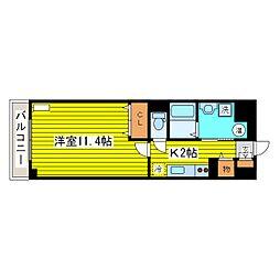 北海道札幌市東区北十五条東5丁目の賃貸マンションの間取り