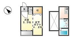 サウザンドサニーヒルズ八田[1階]の間取り