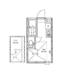 AZEST-RENT池袋II 〜アゼストレント池袋II〜[1階]の間取り