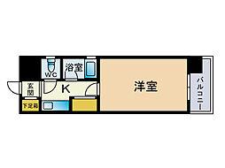 ピュアドームアーデンス大濠[5階]の間取り
