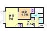 間取り,1LDK,面積37.16m2,賃料4.5万円,バス 函館バス東山団地下車 徒歩1分,,北海道函館市東山2丁目3番3号