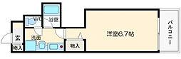 エステムコート大阪城南II[1階]の間取り