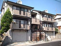 奈良県大和郡山市城町の賃貸アパートの外観