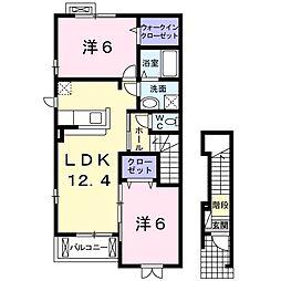 カポリーネア・I[2階]の間取り