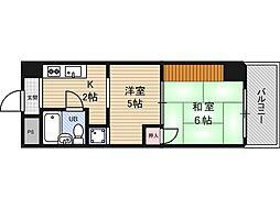 白倉マンション[4階]の間取り
