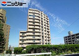 茶屋ヶ坂パークマンション[8階]の外観