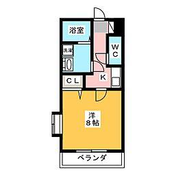 アンプルール リーブル Kotobuki[1階]の間取り