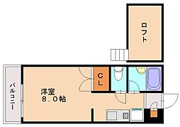 マウリッツハウス[1階]の間取り