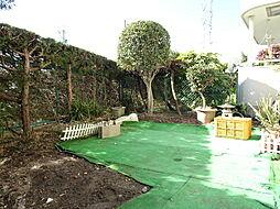 南庭でお子様が遊んだり、家庭菜園などできますね。(2019年1月7日撮影)
