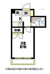 ランドハウス[2階]の間取り
